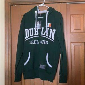 Dublin Ireland hooded zip sweatshirt